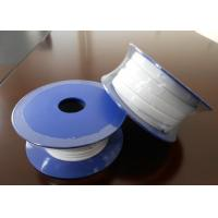 Quality Smooth Expanded PTFE Gasket Tape / One Side Adhesive PTFE Sealing Tape for sale