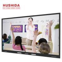 China 400 Nits Touch Screen Interactive Whiteboard , 86 All In On PC Whiteboard For School on sale