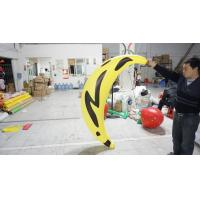 1.2m long Fruit Shaped Balloons , Digital Printing Inflatable Banana