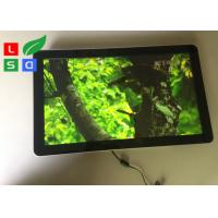 Wall Mounting Indoor LCD Advertising Display U - Disk Control 1080x1920 Resolution Manufactures
