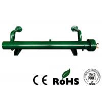 Double System Copper Tube Heat Exchanger With Tap Water Referigerating Medium Manufactures