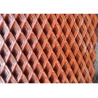 Custom Expanded Metal Sheet , Decorative Metal Sheets Hexagonal Pattern for sale