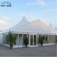 China Unique Custom Party Tents / High Peak Large Marquee Tent Frame Structure on sale