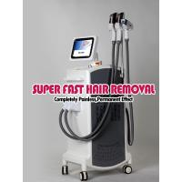 E-light ipl rf nd yag laser multifunction machine , skin rejuvenation and hair removal Manufactures