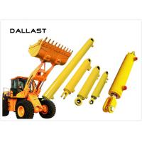 RoHS Piston Type Hydraulic Cylinder , Excavator Double Acting Hydraulic Ram Manufactures