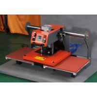 China Double Staion Flatbed Pneumatic Heat Transfer Machine 60*70cm on sale
