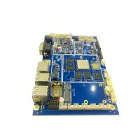 8 Layer SMT PCB Assembly , Sunk Gold Mainframe Computer Circuit Board Manufactures
