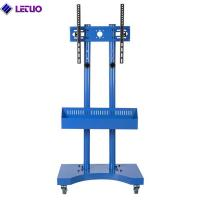 TC64AB Mobile TV Cart Mount Stand for 32 to 65 Inch LED LCD Plasma Flat Screen Panels with Storage Shelves on Wheels Manufactures