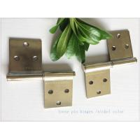 Removable Lift Off Cabinet Hinges  Folding Middle East Type Two Pieces Small Nickel Plated