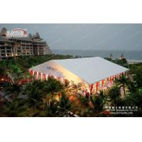 Fire Retardant Tents For Outdoor Events Marquees With Colourful Lining Manufactures