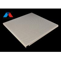 Buy cheap Hook on Punching Aluminum Ceiling Panel System Anti Wind Perforated Ceiling from wholesalers