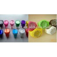 Colorful sports silicone watch Manufactures