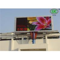 Outdoor P6 Commercial RGB Led display  Led Video Screen water proof cabinet Manufactures