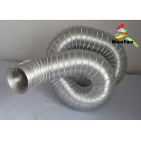 Quality High Flexibility Semi Rigid Air Conditioning Aluminum Flexible Ducting for sale