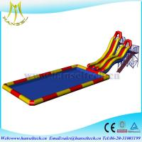 China Hansel amazing swimming pool paddle boat for water party water game on sale
