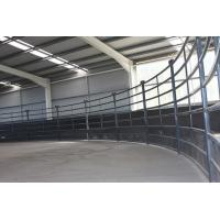 30X60mm Oval Pipe Cattle Livestock Yard Panel Manufactures