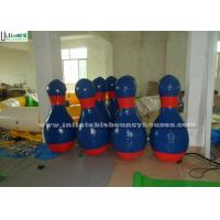 China Custom Shape Advertising Inflatables Promotion Activities Inflatable Bowling Pin on sale