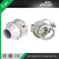 China Mixed flow ventilation plastic duct exhaust inline fan inline duct fan inline fan on sale