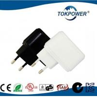 0.5A 5V White Power Adapter / USB Wall Charger Adapter Wall AC DC 5W 60×40×28 mm Manufactures