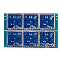 China High Frequency FR4 Sensor PCB Boards 5.8GHZ For Induction Lamp , Blue or Custom on sale