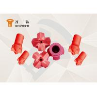RHC Steel Dth Hammer Button Bits , Geothermal Well Drilling Head High Performance Manufactures