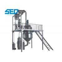 Automatic Herbal Extraction Equipment Concentration Production Line Stainless Steel Made Manufactures