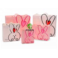 Quality New Born Baby Gift Retail Paper Shopping Bags Art Coated Cute Shape With Handle for sale