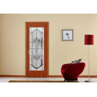 Arctic Patterned Window Door Suit Decorative Frosted Glass Brass / Nickel / Patina Available Manufactures