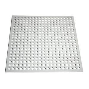 Round Shape Aluminum Powder Coating Perforated Metal Sheet Punching Mesh Customized Size Manufactures