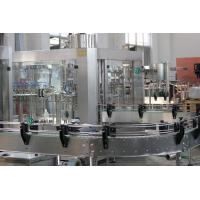 China SS304 Carbonated Drink Filling Machine / Aseptic Beer Bottle Filler Machine on sale