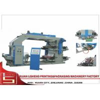High Speed plastic Film Printing Machine , Auto Computer Controlled Manufactures