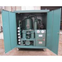 Quality Sell Vacuum Transformer Oil Purifier for sale