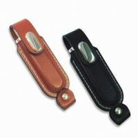 Buy cheap Pen Drive Keychain Usb Flash Drive Leather USB 2.0 4GB 8GB 16GB 32GB from wholesalers