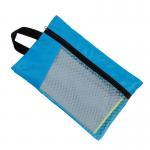 Sun Shine Fast Drying Digital Printed Microfiber Sport Travel Towel With Pocket Mesh Bag Manufactures