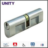 Oval Mortice Lock Cylinder Double Cam Nickel Plated Economic Solution Manufactures
