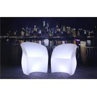 3 Pcs Color Charging LED Glow Furniture AC 100-240V Input LED Tables And Chairs Manufactures