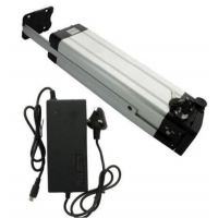 China Silver Fish 36 Volt Lithium Ion Battery 10AH 13AH 15AH 20AH For Electric Bicycle With Free Charger on sale