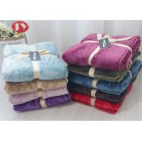 OEM/ODM Logo Luxury Flannel Polyester Fleece Blanket All Season Luxurious Gift Packing Soft Manufactures