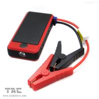 China Double USB portable power bank car jump starter 12000mah in Red on sale