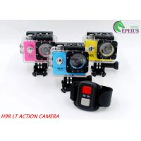 140 Degree Full Hd 1080p Wifi Action Camera With Single / Continuous Shooting Mode Manufactures