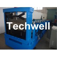 Hydraulic Cutting Steel C Shaped Purlin Roll Forming Machine For GI, Carbon Steel Material Manufactures