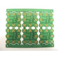 Immersion Gold Single Sided PCB Board Green Solder Mask 1.0Mm Thickness Manufactures
