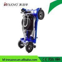 China automatic folding new light mobility scooter with aluminum frame and lithium battery  from chinese manufactory with CE on sale