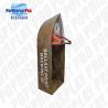Buy cheap Visual Merchandising Custom Cardboard Shelf Display PVC Clear Window For from wholesalers