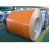 China Finishing Color Coated Steel Coil Sheet Metal For Greenhouse Pipelines , S350GD + Z / CGCC on sale