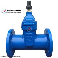 DIN3352 CAST IRON DUCTILE IRON DN100 PN16 GGG50 F5 WATER GATE VALVE Manufactures