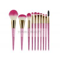 Shinning Magenta Beginner Fantasy Mass Level Makeup Brushes Tools Manufactures