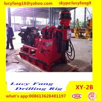 China China Deutz Engine XY-2B  Soil and Rock Core Drilling Machine for Minerals Exploration With 50-500 m and NQ on sale