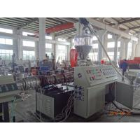 Plastic PVC Pipe Extruder Machines Conical Twin Screw Extruder SJSZ80 Manufactures