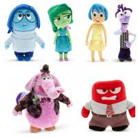 Cute Disney Inside Out Soft Dolls Cartoon Plush Toys for Babies Manufactures